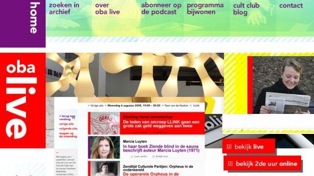 Website OBA Live