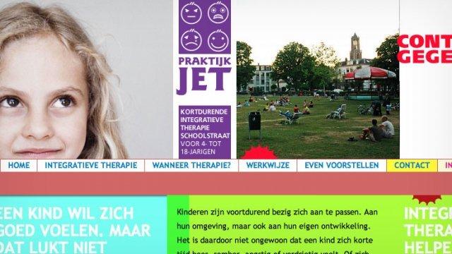 Website Praktijk Jet