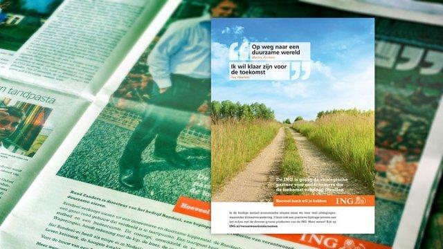 ING advertentie in NRC