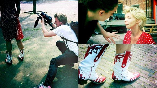 Shoot VRW.ZKT.KNST met Isolde Hallensleben