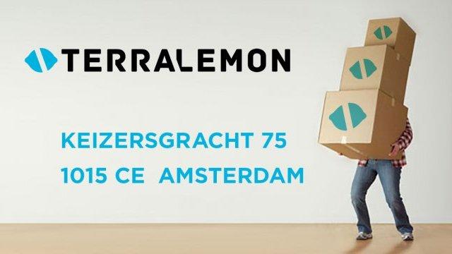 Terralemon verhuist naar Keizersgracht 75
