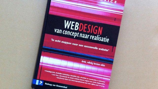 'Webdesign, van concept tot realisatie'