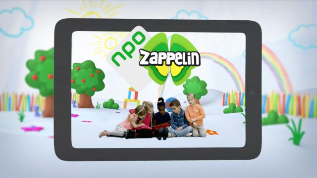 Afbeelding NPO Zappelin app promo's