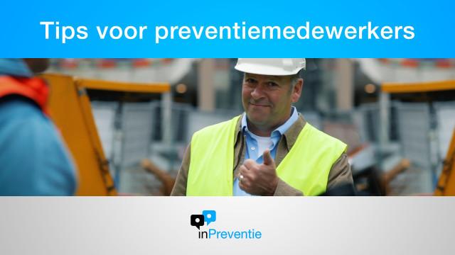 Afbeelding Tips voor preventiemedewerkers