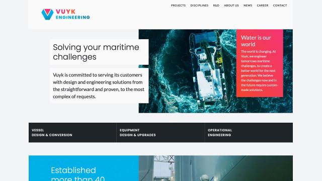 Afbeelding Vuyk Rotterdam website
